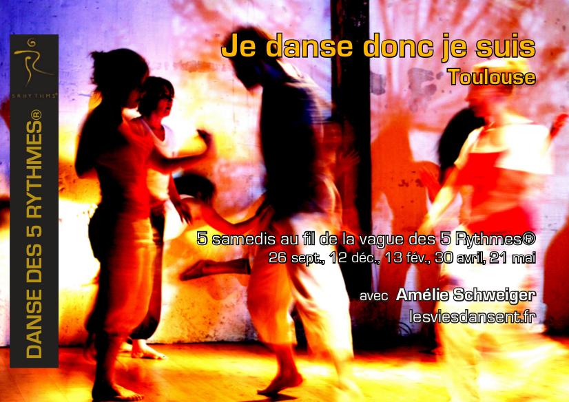 Je danse donc je suis danse des 5 Rythmes Toulouse