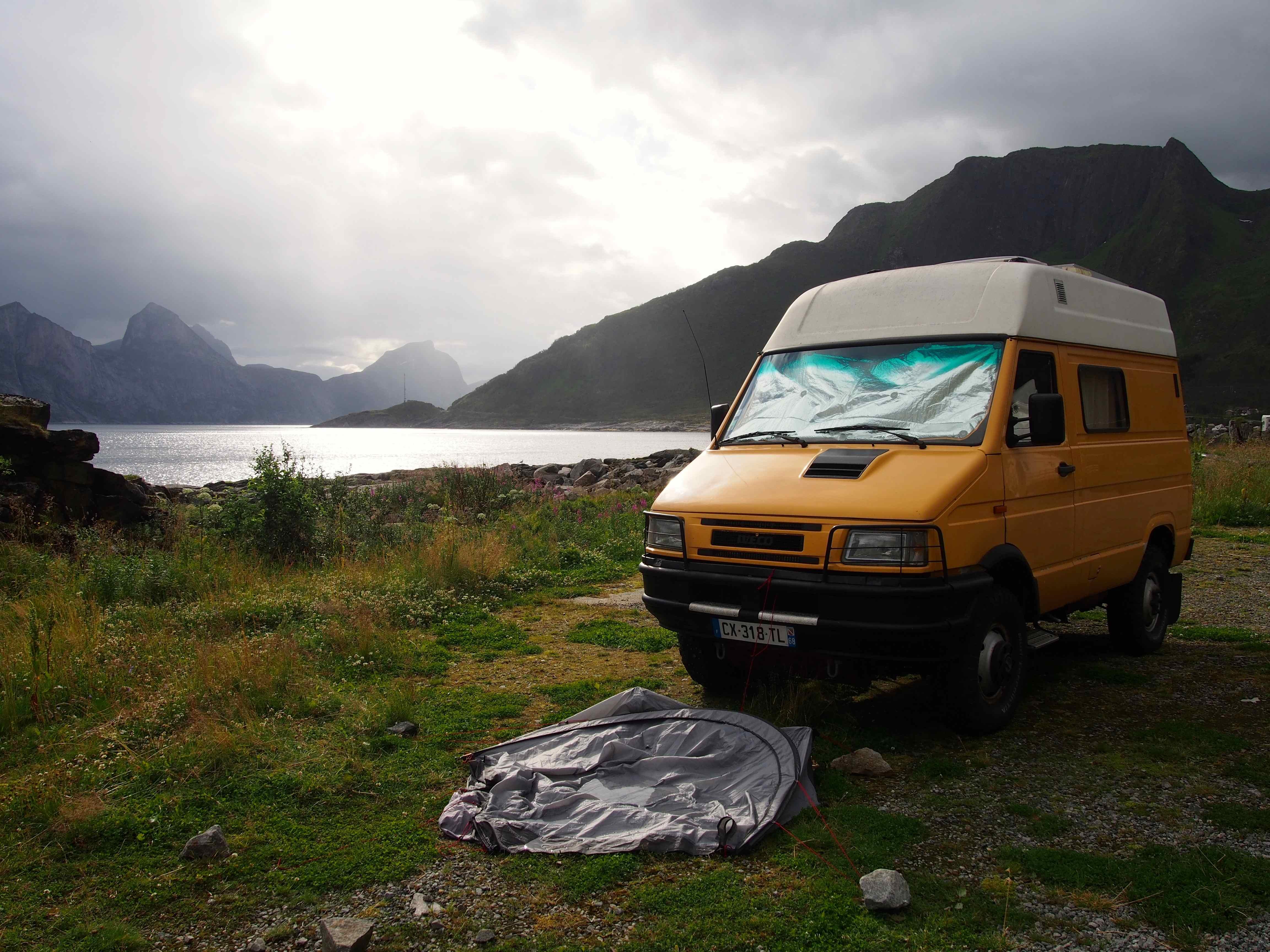 No Mad World tour Norvège Tempête à Mefjordvaer