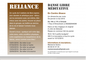 Reliance : stage de Danse méditative en Alsace