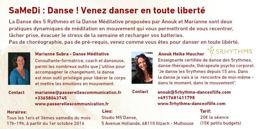 SaMeDi : Danse ! toutes les infos pratiques pour venir danser en toute liberté