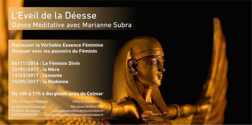 L'Eveil de la Déesse - Danse Méditative avec Marianne Subra
