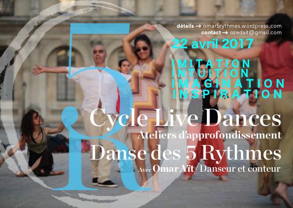 Danse des 5 Rythmes à Toulouse avec Omar