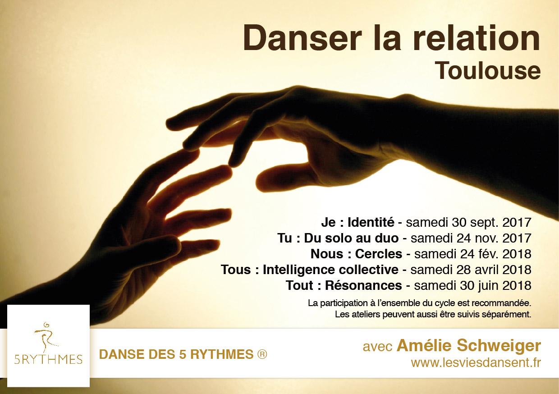 Danse des 5 Rythmes à Toulouse avec Amélie Schweiger